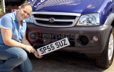 DVLA Personalised Registrations' Two Millionth Customer