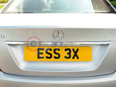 ESS 3X Numberplate