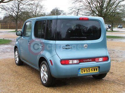 Nissan Cube Rear View