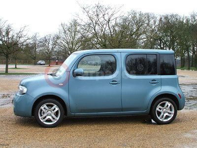 Nissan Cube Side View