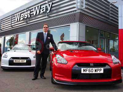 Nissan GT-R At West Way Manchester