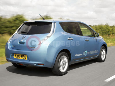 the nissan leaf awarded 2011 european car of the year. Black Bedroom Furniture Sets. Home Design Ideas