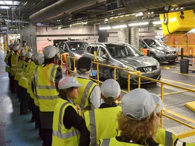 Nissan's See Inside Manufacturing Tour