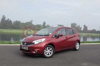 Nissan Note (Rear Side View) (2013)