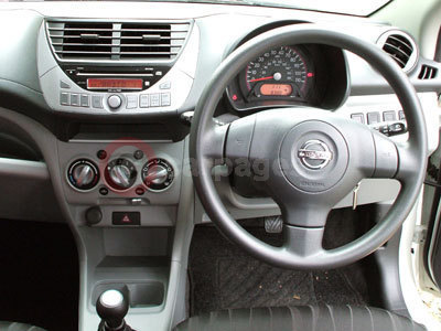 The Nissan Pixo Interior