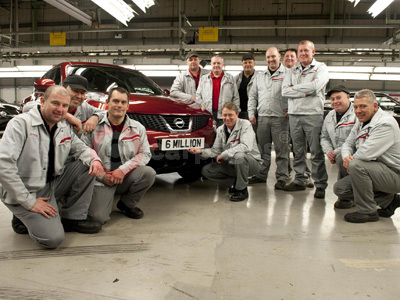 Production Staff At Nissan's Sunderland Plant