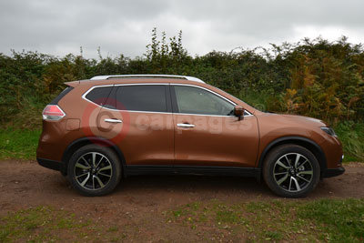 Nissan X-Trail (Side View) (2016)