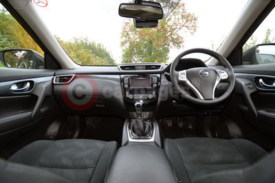 Nissan X-Trail (Interior View)