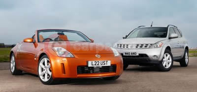 Nissan 350Z Roadster And The Murano