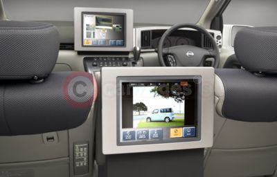 Nissan Multimedia Display Car