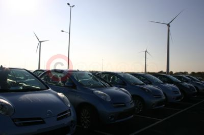 The wind farm at Nissan Sunderland