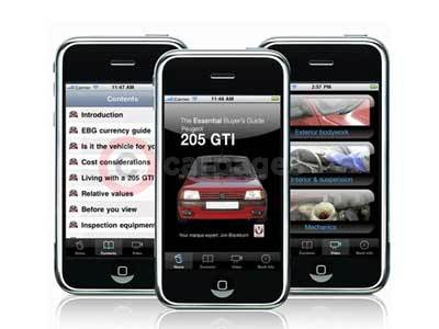 Peugeot 205 GTI - The Essential Buyer's Guide iPhone App