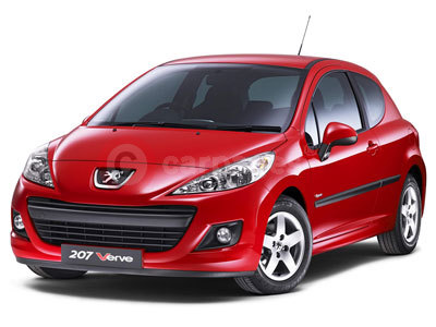 The Peugeot 207 Verve