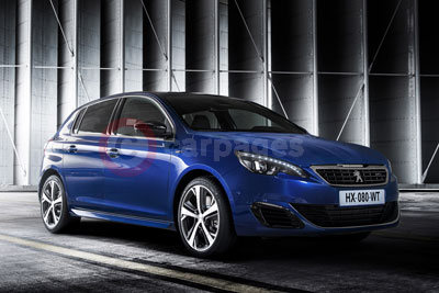 Peugeot 308 GT finished in 'Magnetic Blue'