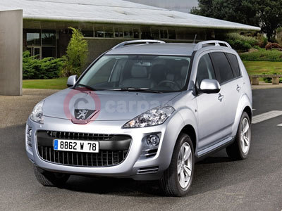 The New Peugeot 4007 DCS