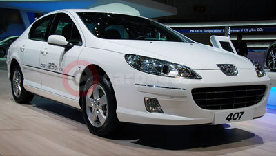 The New Peugeot 407