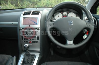 Peugeot 407 sw review part five for Interior 407 coupe