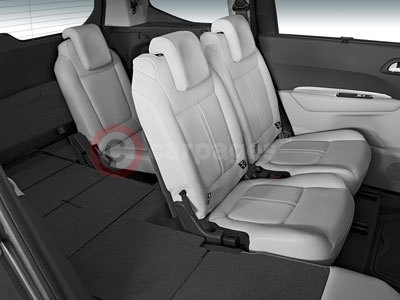 The Peugeot 5008 Passenger Seating