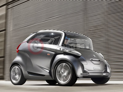 The New Peugeot BB1 Mobility Concept Car