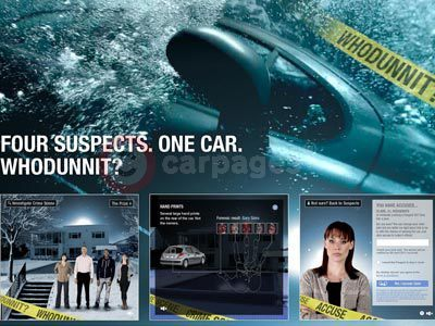 Peugeot ENVY Whodunnit Campaign