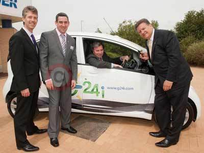 G24i and Oliver Letwin With The Peugeot iOn