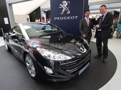 Peugeot RCZ Competition Winner Matthew Stollery