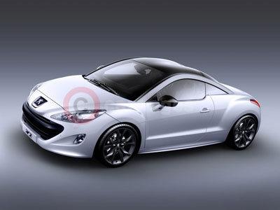 The New Peugeot RCZ Coupe