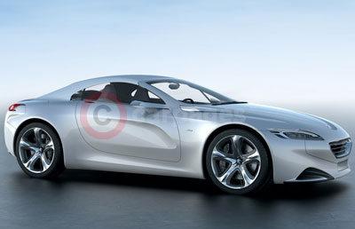 The New Peugeot SR1 Concept Car