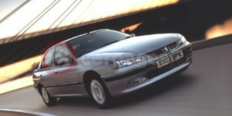 The Peugeot 406 Saloon