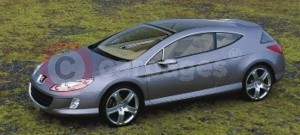 The Peugeot 407 Elixir Concept Car