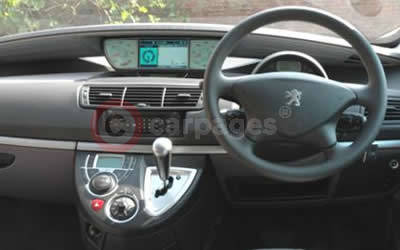 Peugeot 807 review part five for Interior peugeot 807