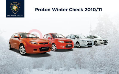 Proton Dealers Winter Check Up