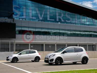 Renault Clio and Twingo Silverstone GP Limited Editions