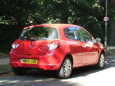 The Renault Clio Rear View