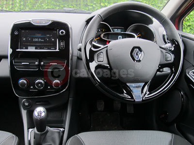 Renault Clio (Interior View) (2013)