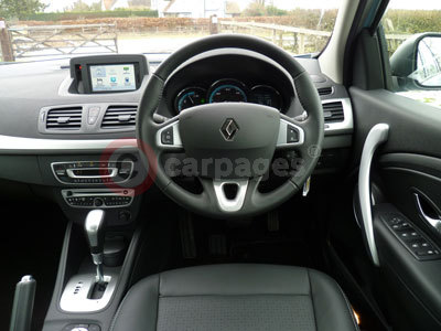 Renault Fluence (Interior View) (2012)
