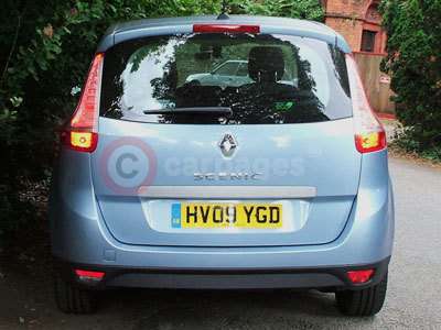 The Renault Grand Scenic Rear View