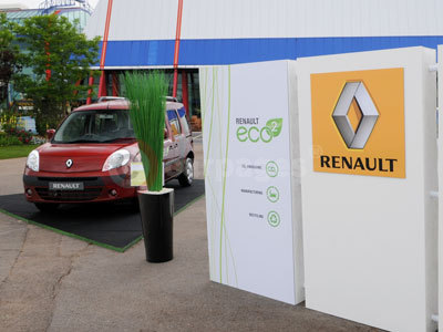 The Renault Kangoo At BBC Gardeners' World Live