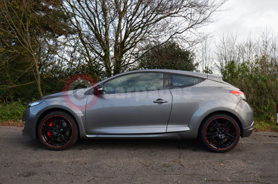 Renault Megane Coupe Renaultsport 265 Cup (Side View) (2013)
