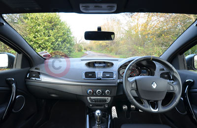 Renault Megane Coupe Renaultsport 265 Cup (Interior View) (2013)
