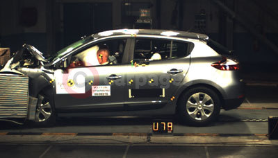 Renault Megane NCAP Crash Test