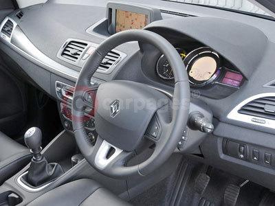 Renault megane coupe 2009 interior for Interior renault megane
