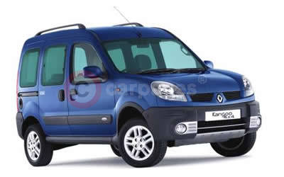 renault kangoo trekka 4x4 revised for 2005. Black Bedroom Furniture Sets. Home Design Ideas