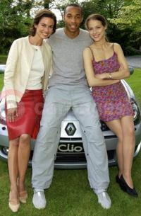 Thierry Henry New Face Of Renault