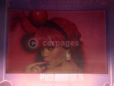 Rihanna in The Renault Clio Va Va Voom Advert