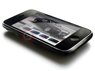 Rolls Royce Ghost iPhone App