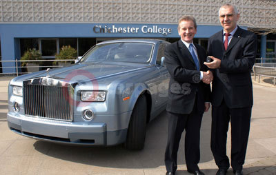 Rolls Royce Phantom For Chichester College