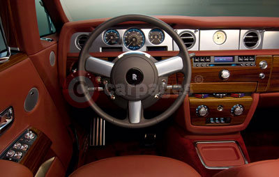 Rolls Royce Phantom Coupe Interior