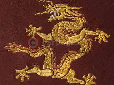 Rolls Royce Embroidered Dragon