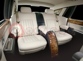 Rolls Royce Phantom Theatre Rear Seats